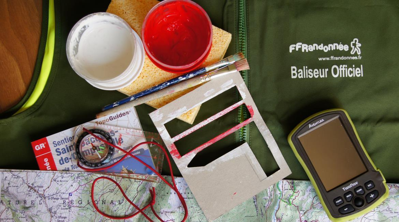 BALISAGE : Soutenez les baliseurs bénévoles de la FFRandonnée !